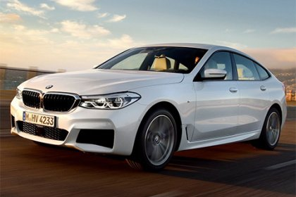 BMW 6 Gran Turismo 640d xDrive Luxury Line